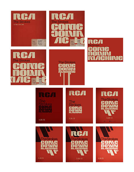 The Strokes Comedown Machine fan-art